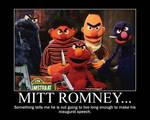 Mitt Romney vs Sesame Street