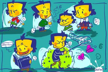 Cortex sketch by Loukho