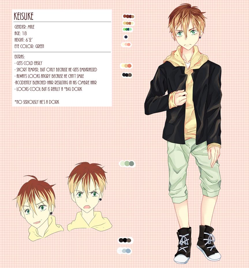OC: Keisuke by Himegaru