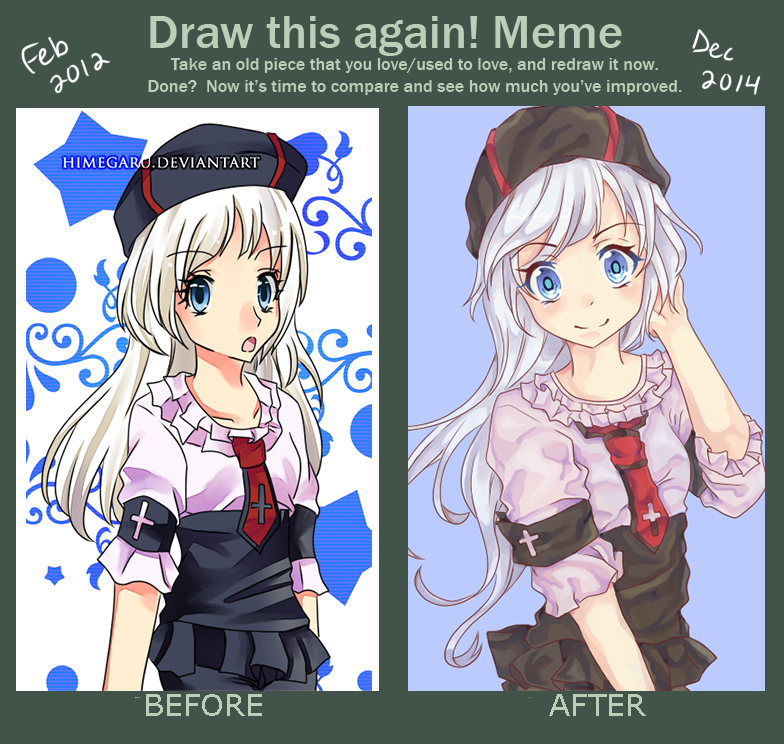 Before and After Meme by Himegaru