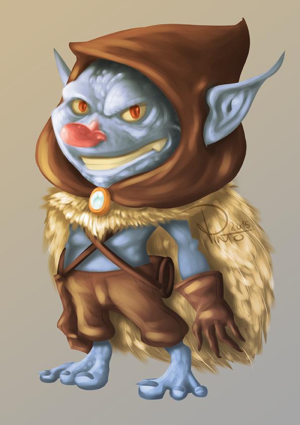 Little Goblin by Pinteezy