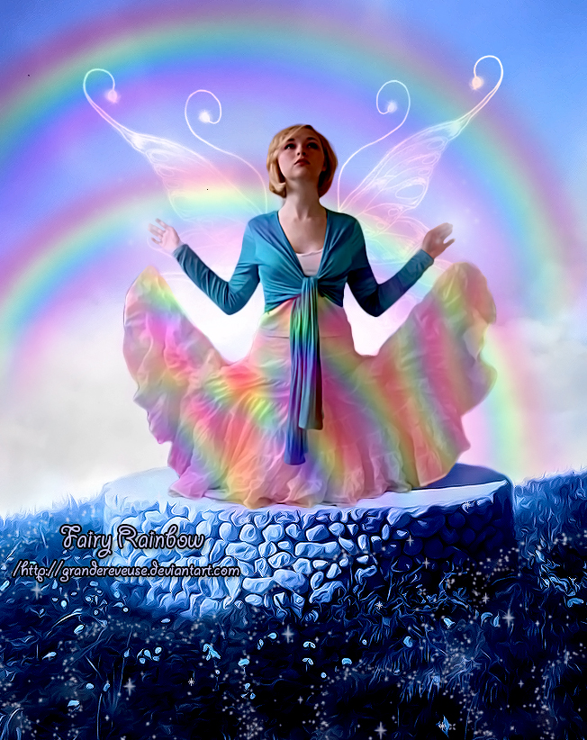 Fairy Rainbow by GrandeReveuse