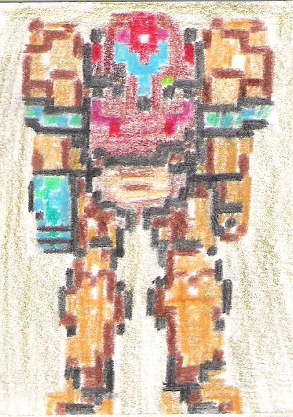 Pixel Samus Aran by 130Dk