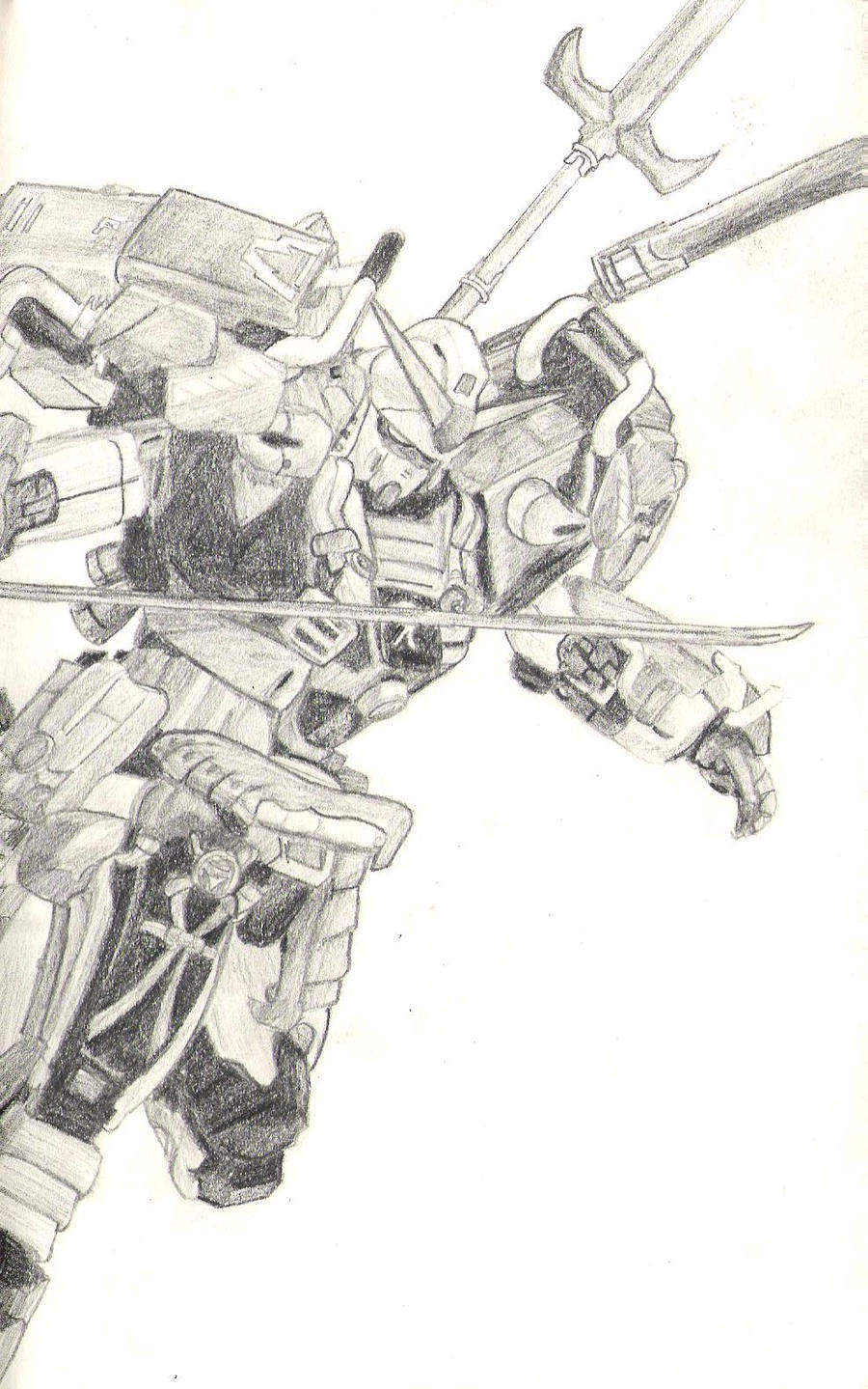 Shin Musha Gundam by 130Dk