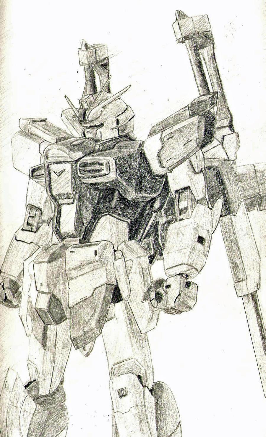 X56 Sword Impuse Gundam by 130Dk