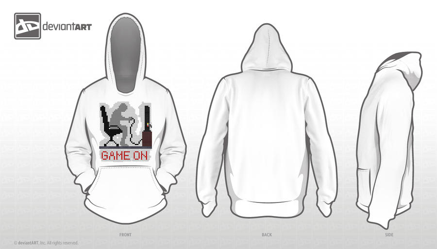 Game On 8 bit design by 130Dk