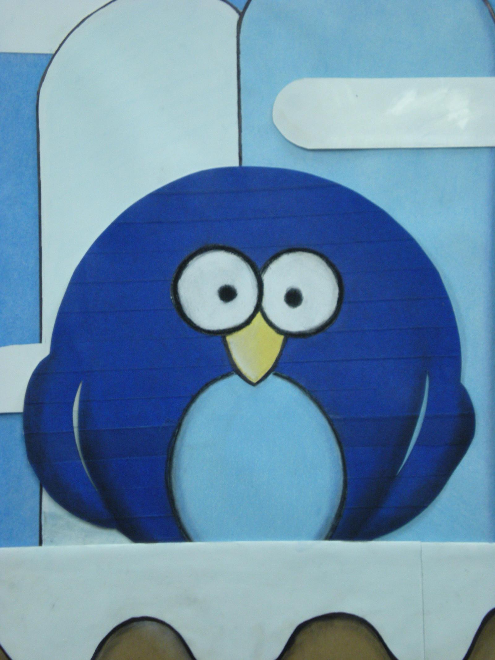 Blue Penguin by 130Dk