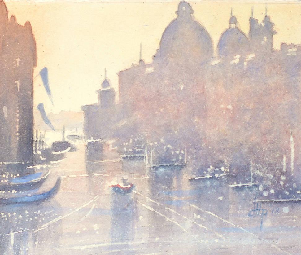 Hazy Venice 20 x24 cem by Oblomov-Ilya1956