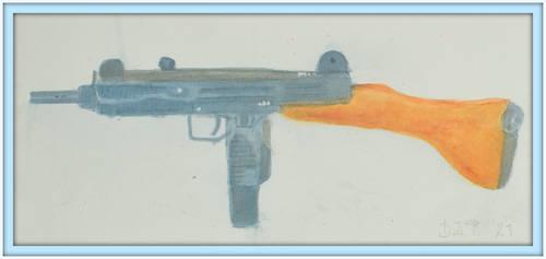 Uzi 9 mm made in Israel