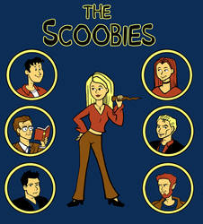 Buffy and the Scoobies by Knackful