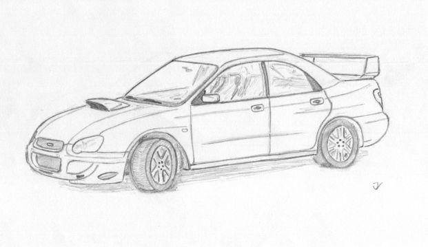 Subaru Impreza WRX by tod93cz on DeviantArt