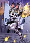 Robocop Judy - Commission