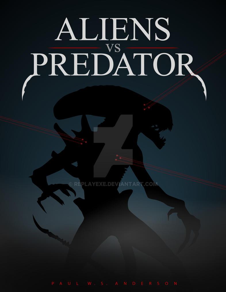 AvP Movie Poster by replayexe