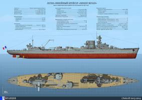 Light Battlecruiser Ernest Renan by SoloAD