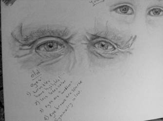 Old eyes, young eyes.  by LyndasDaughter