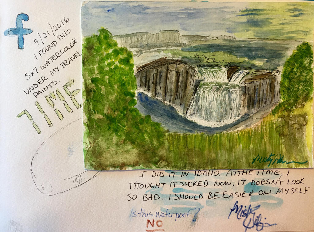 Journal page, 9/21/16 by LyndasDaughter