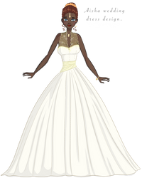 Aisha Wedding dress by Tjibi
