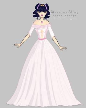 Musa wedding dress