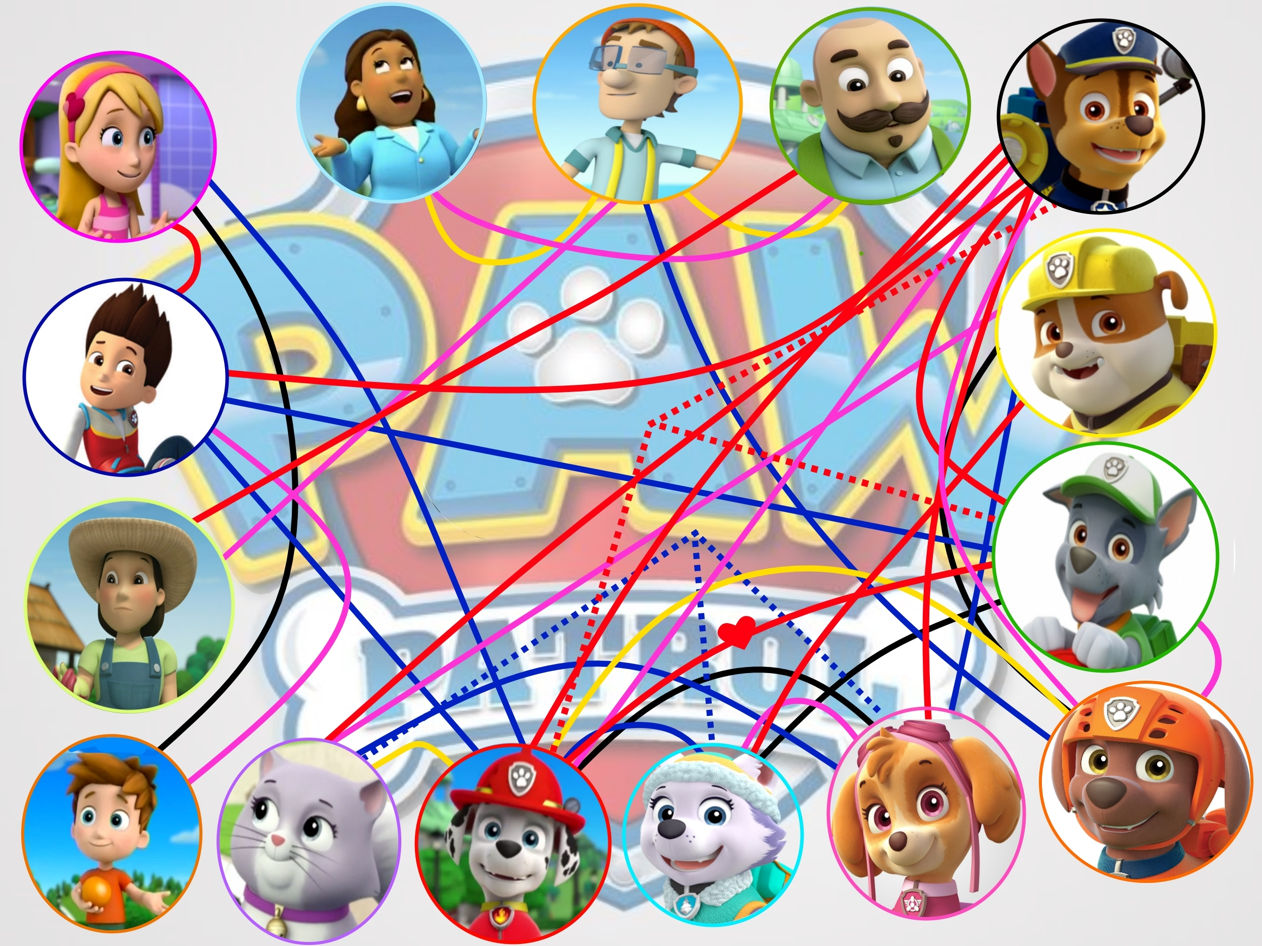 Image Result For Paw Patrol Colors