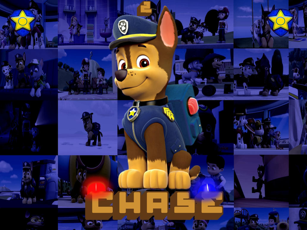 PAW Patrol Chase By Double P1997
