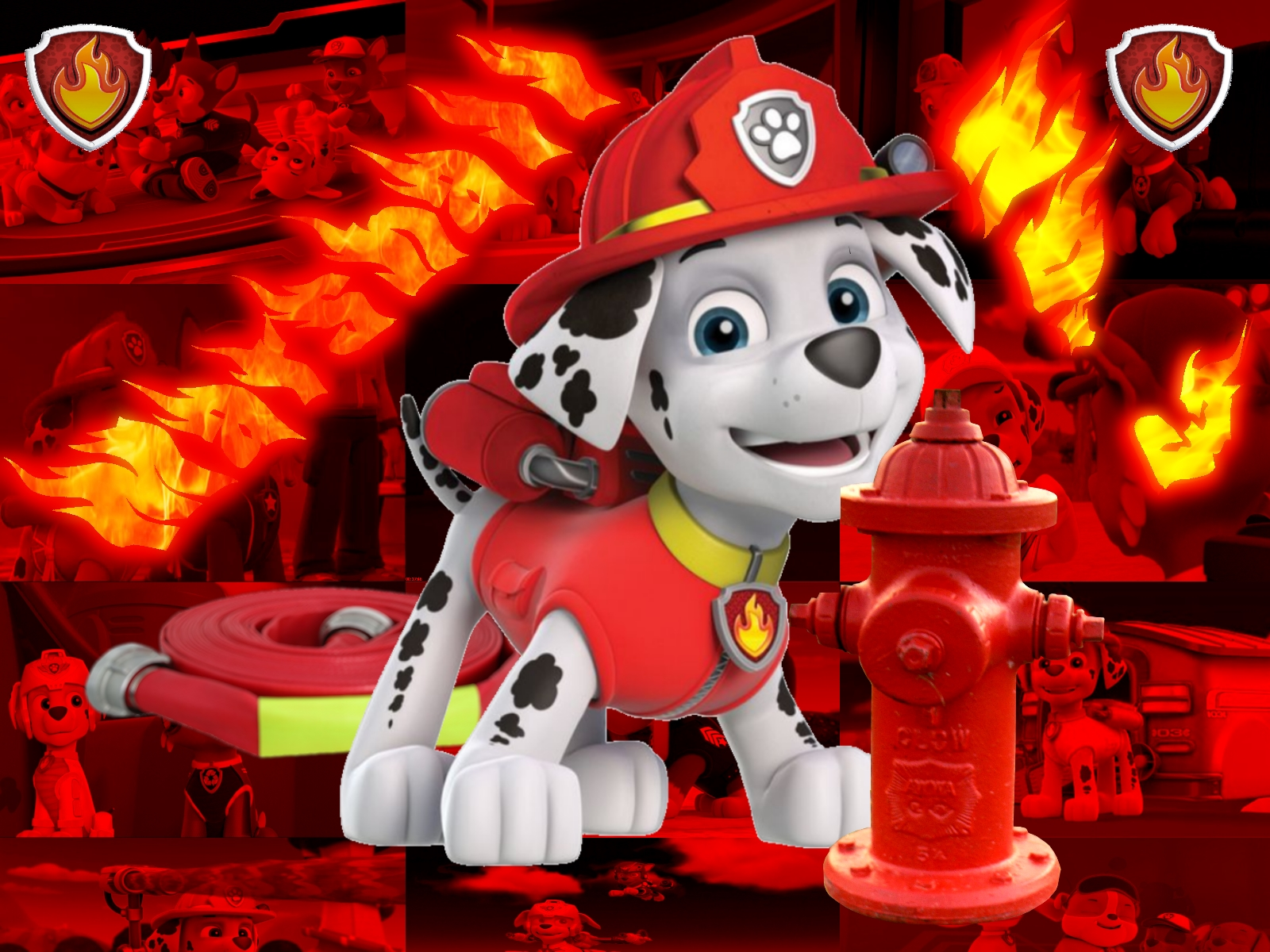 PAW Patrol Marshall By Double P1997