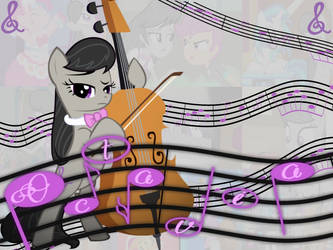 My Little Pony: Octavia Melody by Double-p1997
