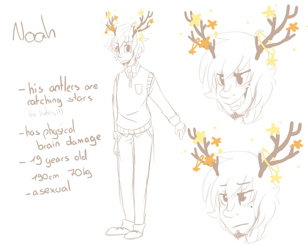 Noah - Character Concept by Demoqhobia