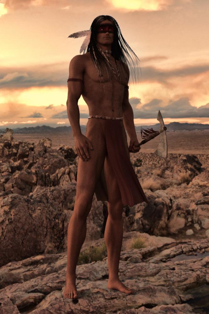 Warrior (Iray test) by EdiePhoenix