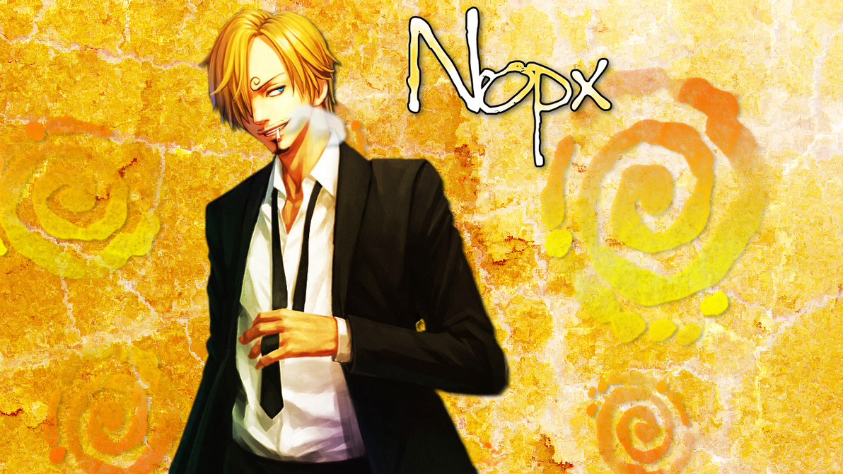 One Piece Sanji Wallpaper By Nopxx