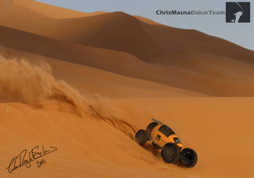 Dakar Argentina by ChrisMasna