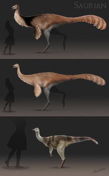 Hell Creek Ornithomimid