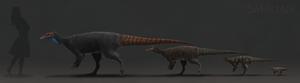 Saurian Thescelosaurus Ontogeny