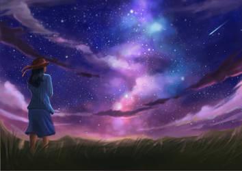 Galaxy by misangMishael