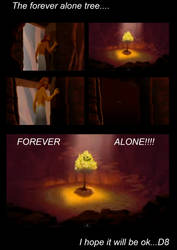 The forever alone tree in the Joseph movie...