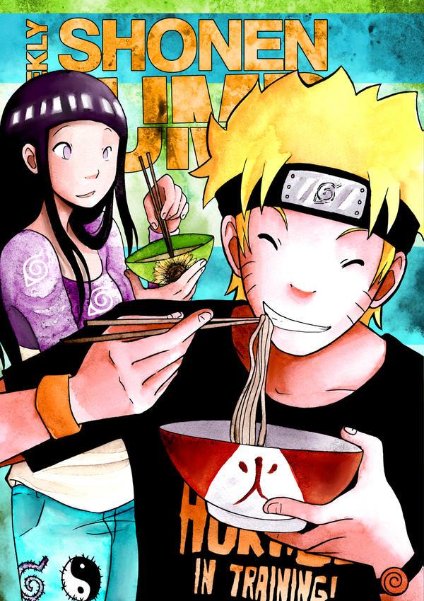 Shonen Jump - Naruto Cover Contest Entry by HorrorPillow