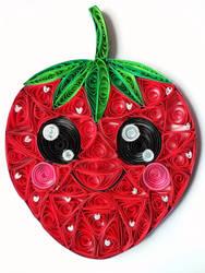 Quilling - Strawberry by RzymonZPapieru
