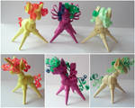 Quilling 3D - Citrus, Thunder and Vision (MLP OCs)