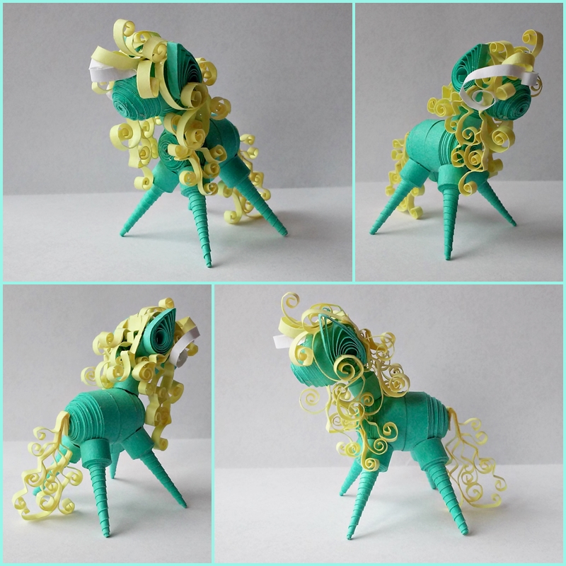 Quilling 3D - Bookie by Sszymon14