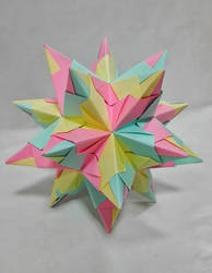 Origami - Bascetta Star by RzymonZPapieru
