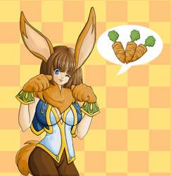 Hello, bunny girl v.2 by aphelion-of-mine