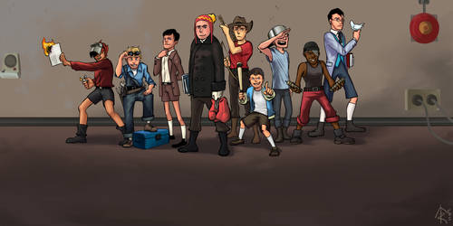 TF2 : young Team Fortress 2