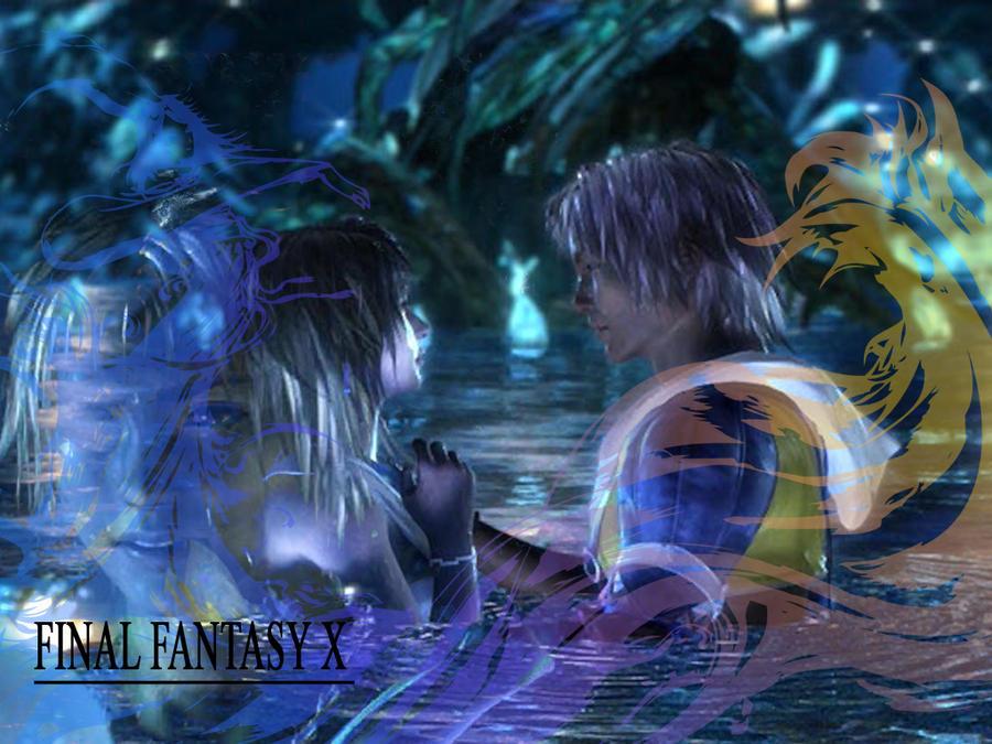 Tidus Tidus Yuna Final Fantasy X Wallpaper