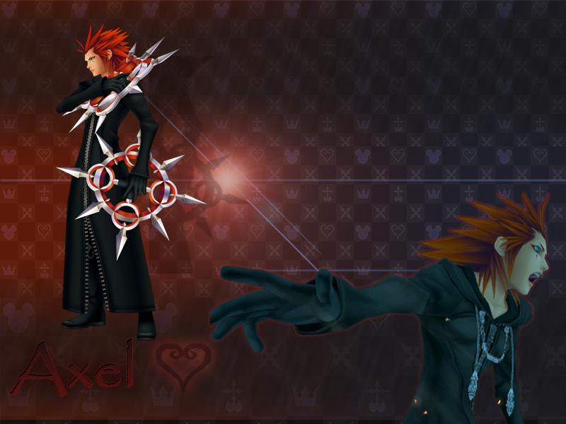 kingdom hearts Axel by LumenArtist on DeviantArt