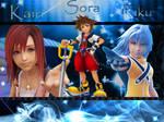 Kingdom hearts Sora Riku Kairi