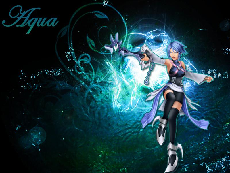 Kingdom Hearts Aqua Wallpaper Kingdom hearts Aqua by...