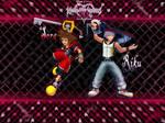 Kingdom hearts 3D Sora and Riku