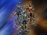 Kingdom Hearts Ventus Aqua Terra armor