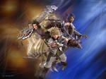 Kingdom Hearts Ventus Aqua Terra