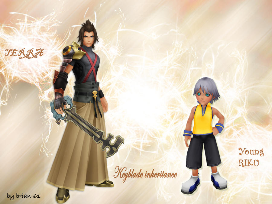 Kh bbs Terra and Young Riku keyblade Ceremony by LumenArtist