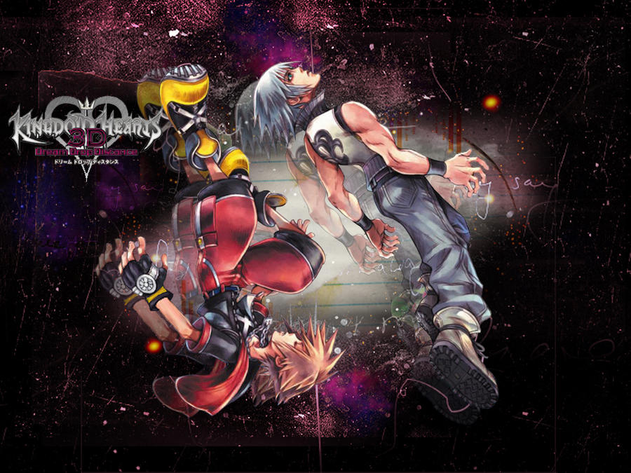 Kh dream drop distance  - riku and Sora by LumenArtist
